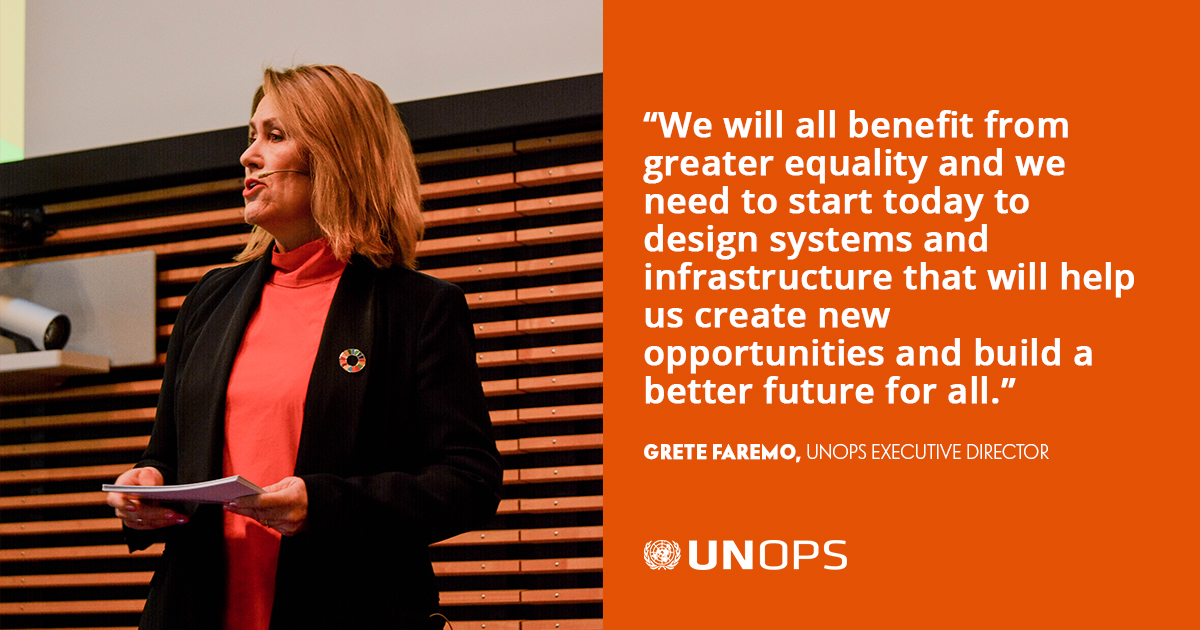 This #UrbanOctober, we remain committed to helping build a better, more sustainable future for urban populations & beyond.  More from our Executive Director on how we can tackle inequality through better designed and planned infrastructure: https://t.co/jGMFMrrCvZ https://t.co/g7snADAXAa