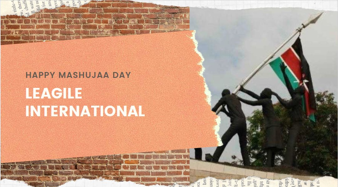Happy #MashujaaDay from Leagile International #ShujaaWangu #Shujaa #MimiNiShujaa #MashujaaDay2020  #HudumaNamba #Nation #Kenya https://t.co/SMdB3R4AsU