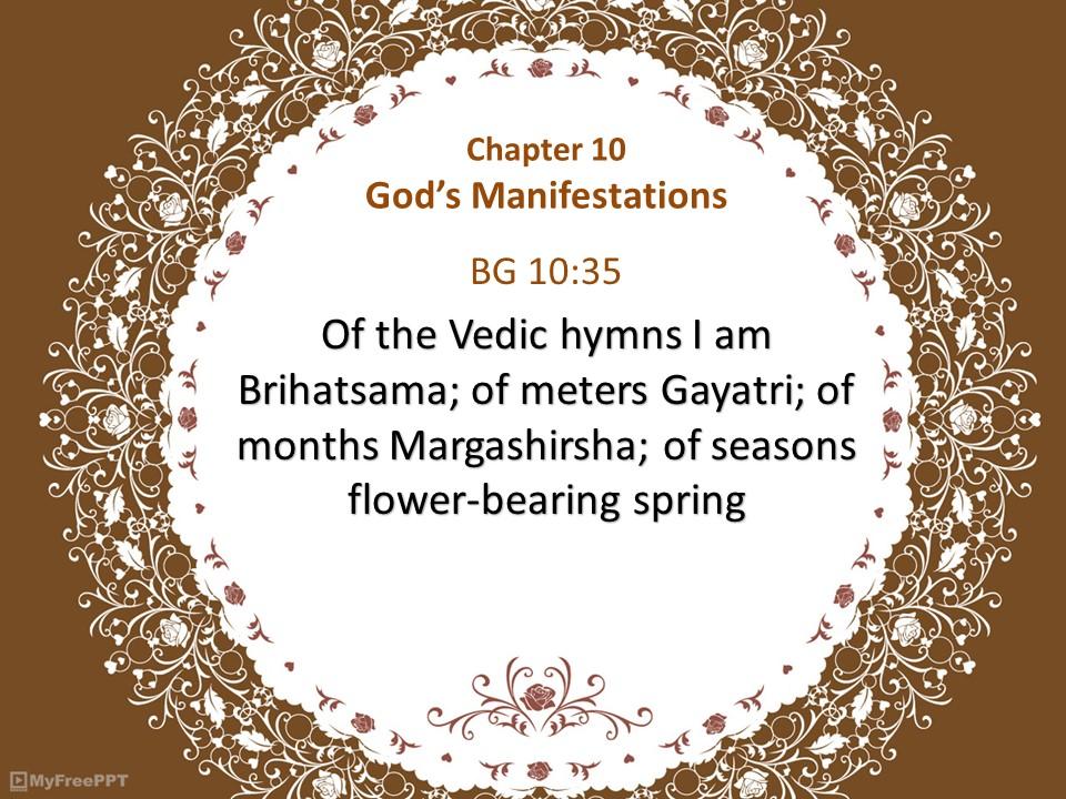 BG 10:35 #BhagvadGita #happiness #spirituality #India #peace #culture #spiritual #spiritualAwakening #life #wisdom #mindfulness #yoga  #awakening #consciousness #soul #faith #motivation #inspiration #believe #enlightenment #energy #quotes https://t.co/bV6YMIYKA2