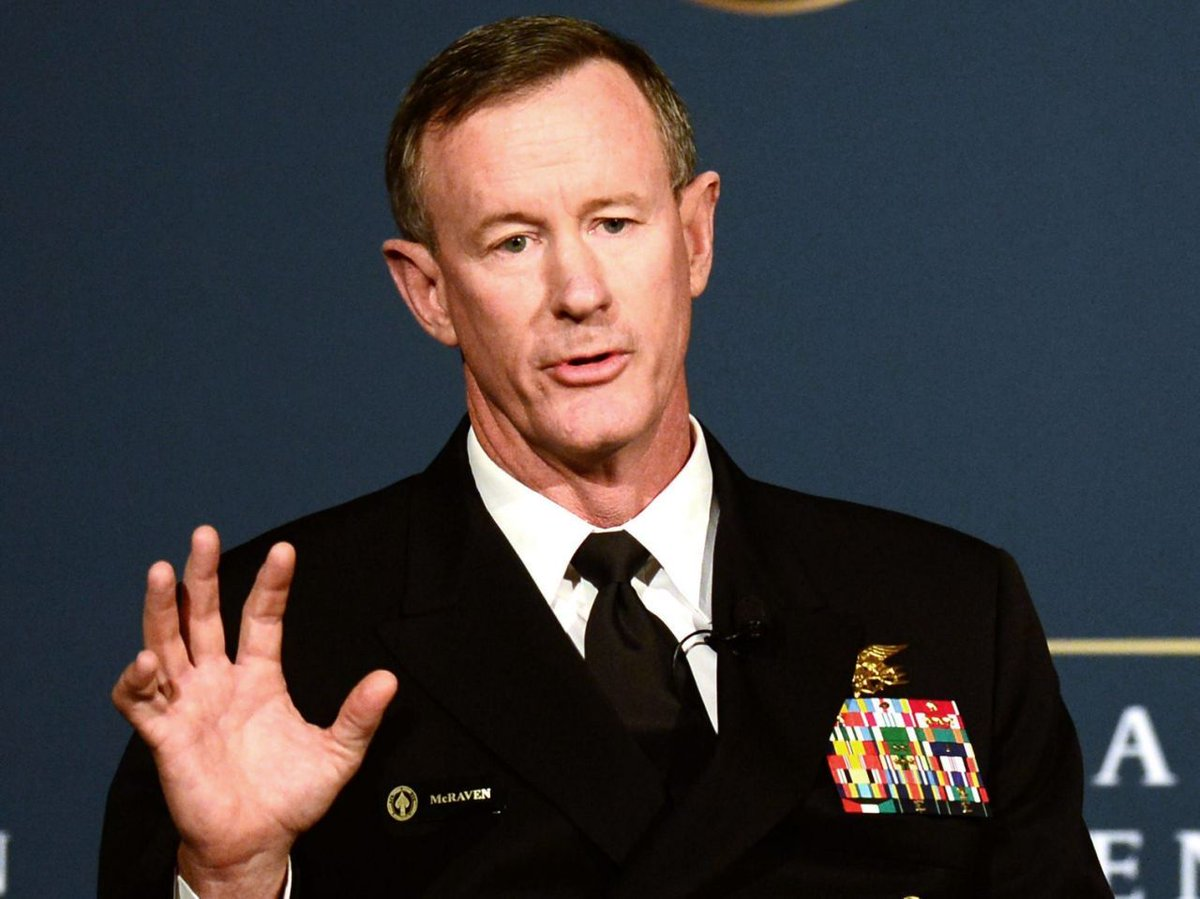Retired Adm. William McRaven, a former US Navy SEAL commander who served as the head of US Special Operations Command and oversaw the bin Laden raid, wrote an op-ed article in The Wall Street Journal on Monday in which he said he voted for Joe Biden yhoo.it/2HgNviW