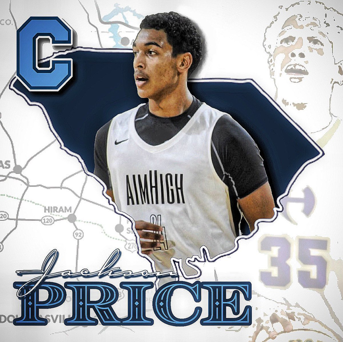 Another one of our young men has committed to play at the next level. @jprice_24 will further his education & take his talents to @CitadelHoops next year. #Congrats #AlwaysAimHigh https://t.co/6U6hbmD4KR