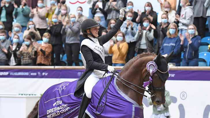 Denmark's Cathrine Dufour achieves scintillating FEI Dressage World Cup double https://t.co/DWDEv2Q1Xe https://t.co/DcN1UIzFEN