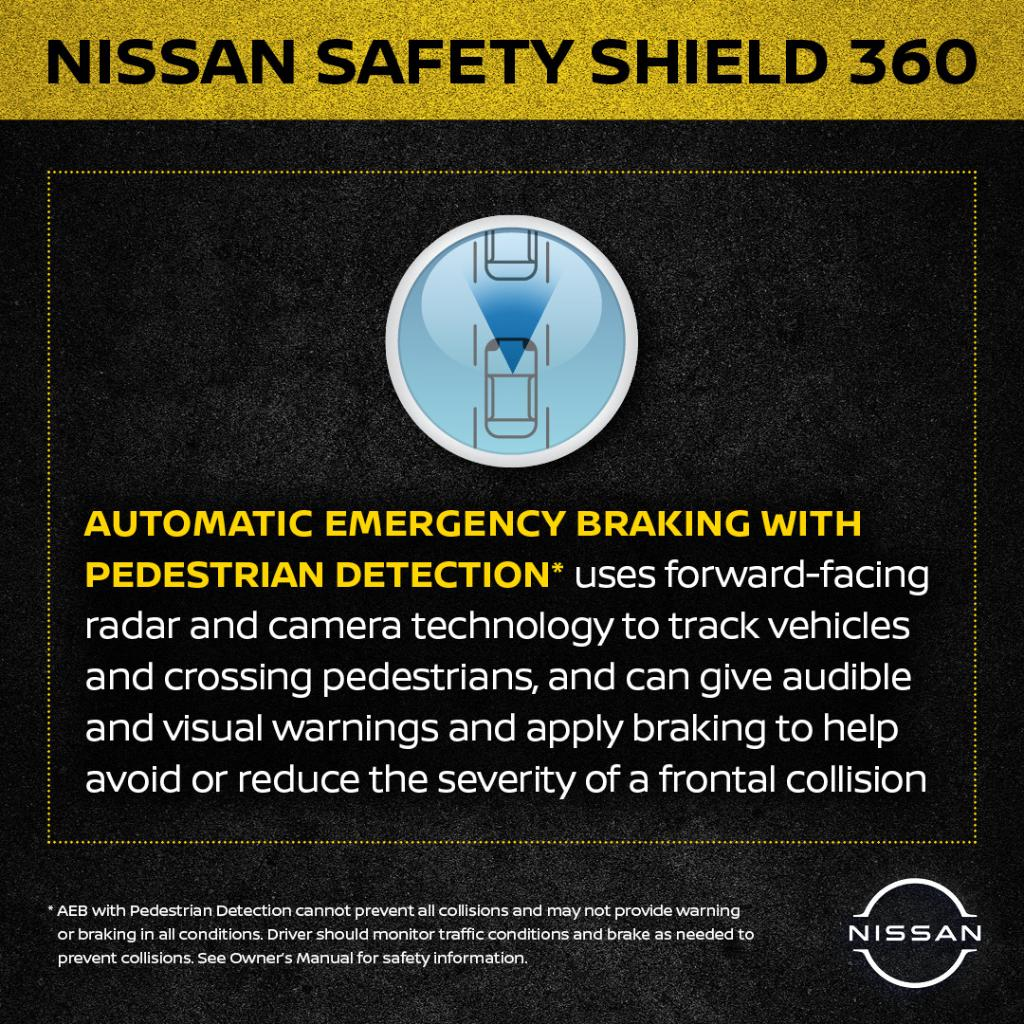 With features like front to rear Automatic Emergency Braking and Forward Collision Warning, accidents with injuries decreased by 56%. Nissan is equipping more models with safety technologies like these and more. https://t.co/qzJCUHKlIg #NationalTeenDrivingSafetyWeek source:@IIHSA https://t.co/cpQDBI6y83