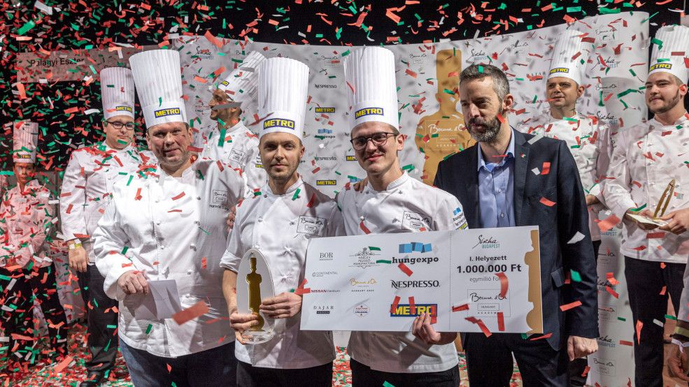 Hungary's team qualified in ninth place last week and will now be going to the Bocuse d'Or World Final in June 2021 https://t.co/2ojbGzIDYJ https://t.co/2UvmV5SX2g