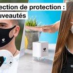 Image for the Tweet beginning: 😷 Prévention Covid-19 😷 Découvrez nos