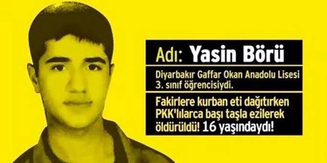 @AKGenclikGM Ben 2014 yılında, 16 yaşında iken Diyarbakır'da ki Kobani olayları sırasında öldürülen Yasin Börü'yüm. https://t.co/gWJ7fUiSaz