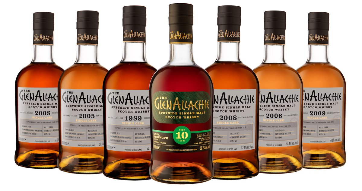 The GlenAllachie launches new cask strength and single cask bottlings https://t.co/9MjWAmGOcs @TheGlenAllachie #scotch #whisky #news https://t.co/pWfbYKnPSB