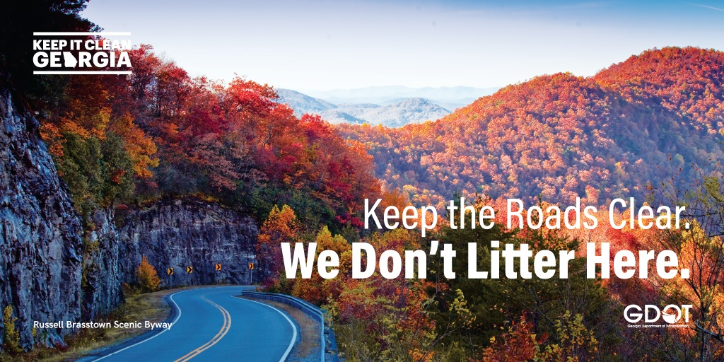 We're proud to support @GADeptofTrans in the #KeepItCleanGA anti-litter campaign. By putting the tools and information from https://t.co/dqsgumMc4q to good use, we put our best foot forward as we welcome visitors to #ExploreGeorgia. https://t.co/NUn0weyUz3
