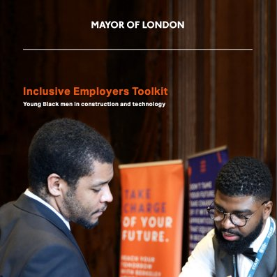 Great work by the @BTEG_LDN on the Inclusive Employers Toolkit launched last week by the @MayorOfLondon.  Focusing on young Black men in #construction and #tech, it is an important step towards a more #diverse and #inclusive industry https://t.co/BvDY39cFpP  @BTEG_MoU @WatesGroup