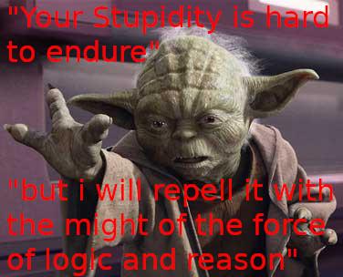 #yoda fighting #stupidity with #theforce https://t.co/Q4wERU1aZV