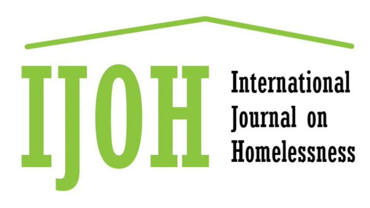 CALL FOR PAPERS: The NEW International Journal on Homelessness (IJOH) is inviting contributions to its 1st edition! IJOH is a peer-reviewed, open-access journal focused on preventing & ending #homelessness locally & globally. Deadline is Jan 31, 2021! bit.ly/2T7l3CS