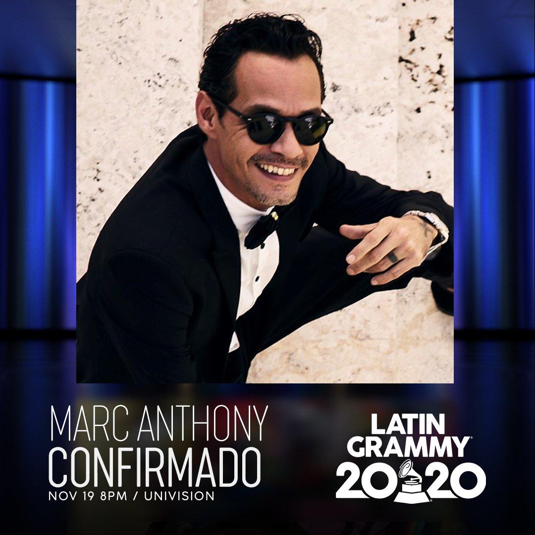 ¡ES OFICIAL! 🎶🙌 @MarcAnthony formará parte de la 21.a Entrega Anual del #LatinGRAMMY 19 DE NOV. 8PM @Univision