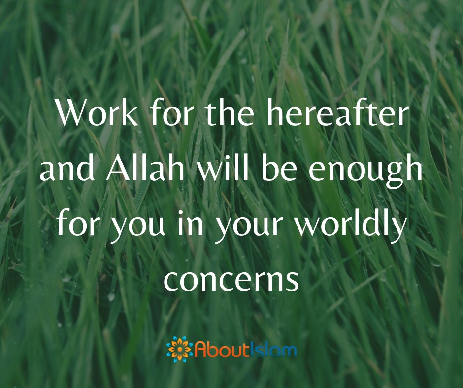 Work for the hereafter.   #islamicquotes #hereafter #Islam https://t.co/OHnWsJ9WF0