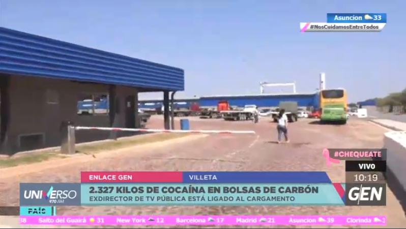 #Móvil970 @angelicagesama | Con todos los detalles de la carga de cocaína incautada en un puerto privado de Villeta.  El operativo continúa a estas horas.  👥#2EnLaCiudad 📺@SomosGEN 📻#Universo970AM https://t.co/5KFdvNPsjy