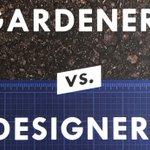 Image for the Tweet beginning: #GardenersvsDesigners is the Number One