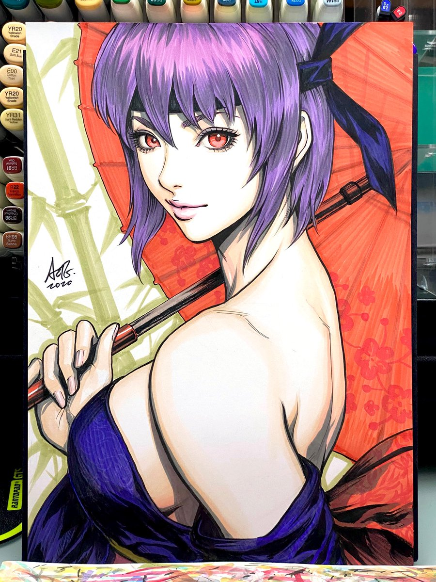 Day 20. Ayane from #deadoralive #ayane #arttrober2020 Just a reminder that my Day 11-20 sketches will be uploaded to my store tomorrow for auctions. :)