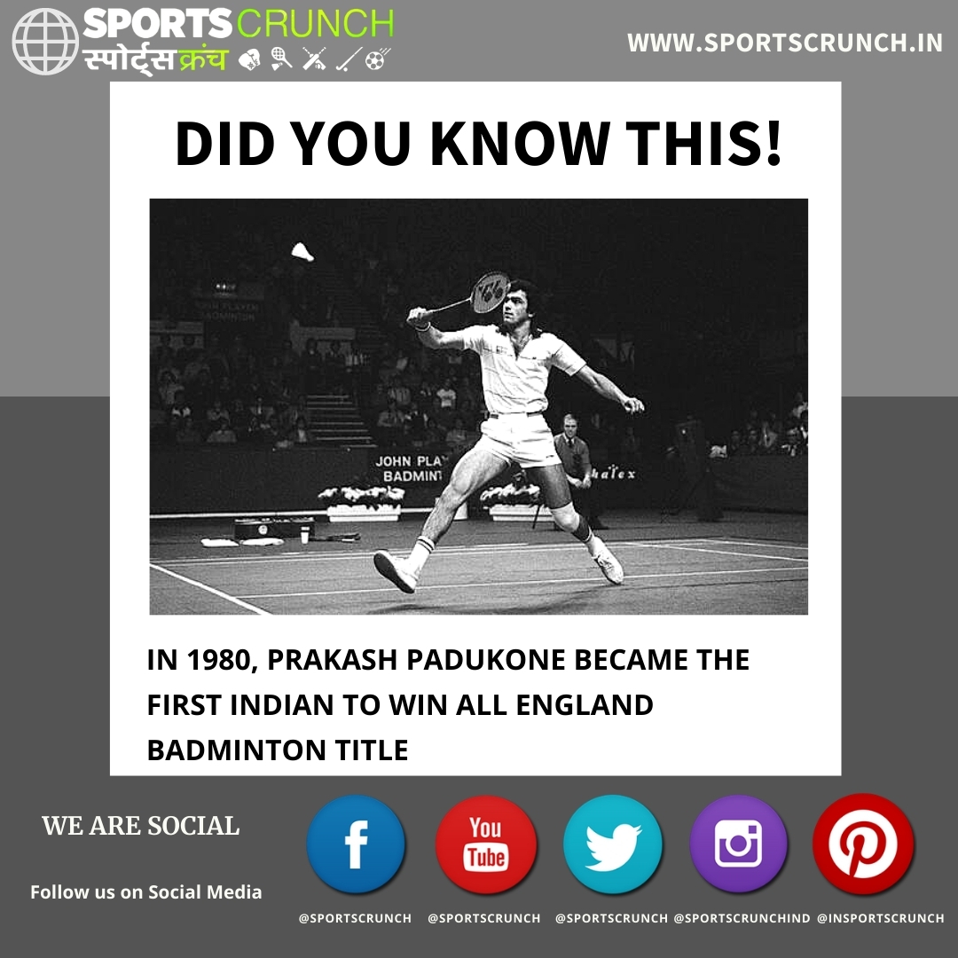 #DidYouKnow: #PrakashPadukone is not only the first Indian Shuttler to win the #AllEngland, but has developed so many Indian Shuttlers as well as a Coach. #India #Badminton #IndianBadminton @padukoneprakash @BAI_Media @YonexAllEngland