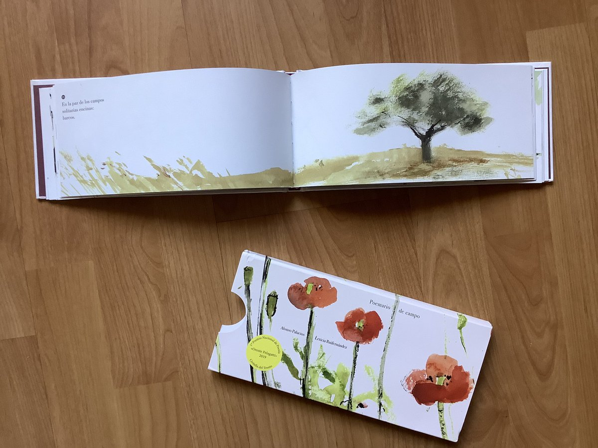 Poemario de campo, de Alonso Palacios y Leticia Ruifernández. Libros de poesía infantil ilustrada
