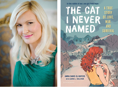 test Twitter Media - Welcome Amra Sabic-El-Rayess to our Virtual Book Tour! Visit our blog to hear the author talk about her debut YA book inspired by her own survival story, The Cat I Never Named. Teaching resources are included. https://t.co/ESVlDuoSlT @bloomsburykids @amrasabicPHD https://t.co/uXf3olFsDz