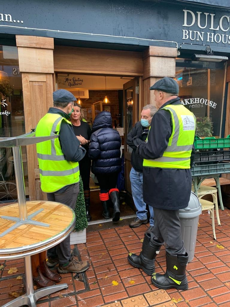 Just finished meeting people in #Cork after last nights flooding. The Government through OPW are committed to working with the Council to deliver the badly needed scheme. We need to move on. https://t.co/YZPkds0lmt