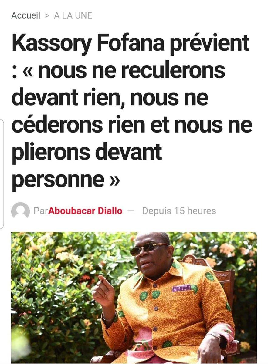 J'espère que @IbrahimaKFofana que vous accepterez les résultats de l'expression de la volonté des guinéens quels qu'ils soient. #guinrevote https://t.co/KFwJOustS6