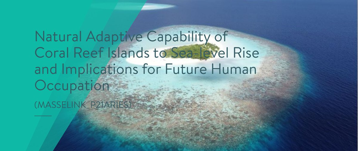 We are looking for an outstanding PhD candidate to study how coral reef islands adapt to sea-level rise: https://t.co/ncKkZzJq1F. The PhD will be based in Plymouth and the research involves physical lab experiments, field survey in the Maldives and numerical modelling. @pu_cprg https://t.co/m5UiYRKMux