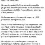 Image for the Tweet beginning: Communiqué du groupe concernant la