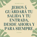 "Image for the Tweet beginning: ""Jehová guardará tu salida y"