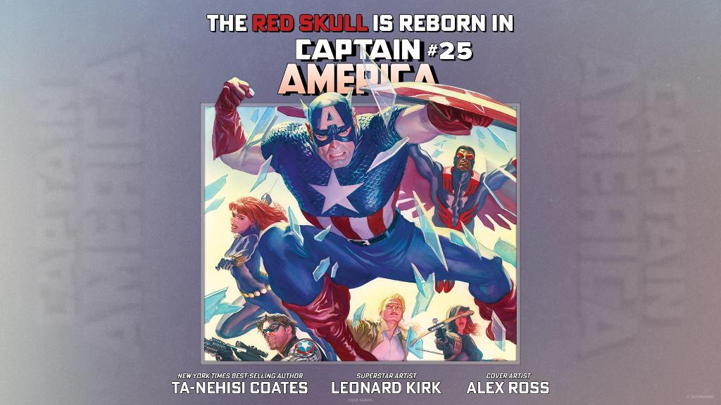"""The Red Skull is reborn in """"Captain America"""" #25. November 2020."""