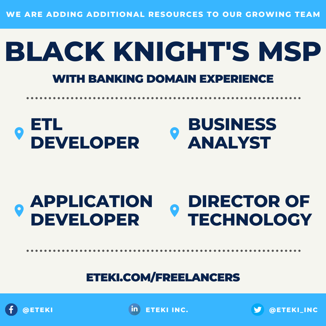 If you have #BlackKnightMSP experience we have a team looking to make your acquaintance!  ➡️ Our team of tech experts screen and interview top technical candidates.   We work with #startups, #SMB, and #Fortune500 companies.  https://t.co/6yLKkoMvgL  #devops #freelance #sidehustle https://t.co/fomrBw8Q6t