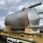 Image for the Tweet beginning: 24m3 Lubricant Storage Tank to
