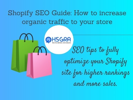 Shopify SEO Guide: How to increase organic traffic to your store https://t.co/84zihzxRzq https://t.co/eyjRnjzyn6  #ShopifySEOGuide #ShopifySEO #Shopify #SEOGuide #SEO #traffic #organictraffic #Bing #Yahoo #Wikipedia #HSGRA https://t.co/h6Uj9ck8lJ