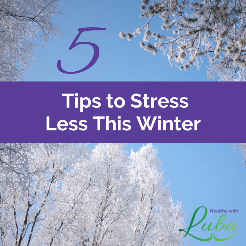 Winter can be stressful with frigid weather, ice storms, and blizzards.  Learn five ways you can stress less this winter.   https://t.co/GVhyRF0CKw  #healthyliving #wellness #nutrition #stressmanagement #stressrelief https://t.co/2sdd3ljKSD