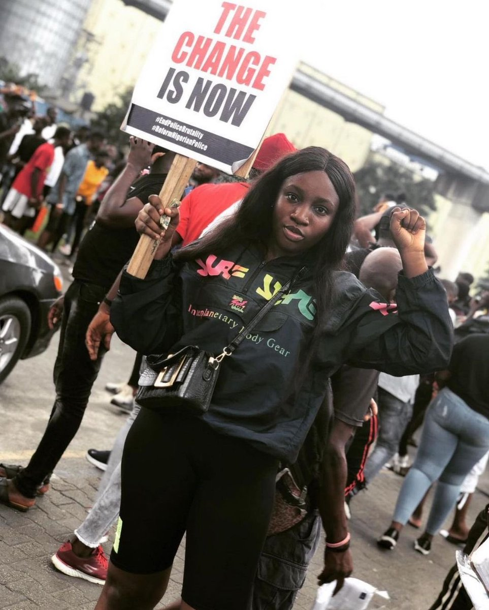 Another day, same goal ❤️✊🏿 _ #PhProtest #EndSARS https://t.co/NDUsKLuKmh