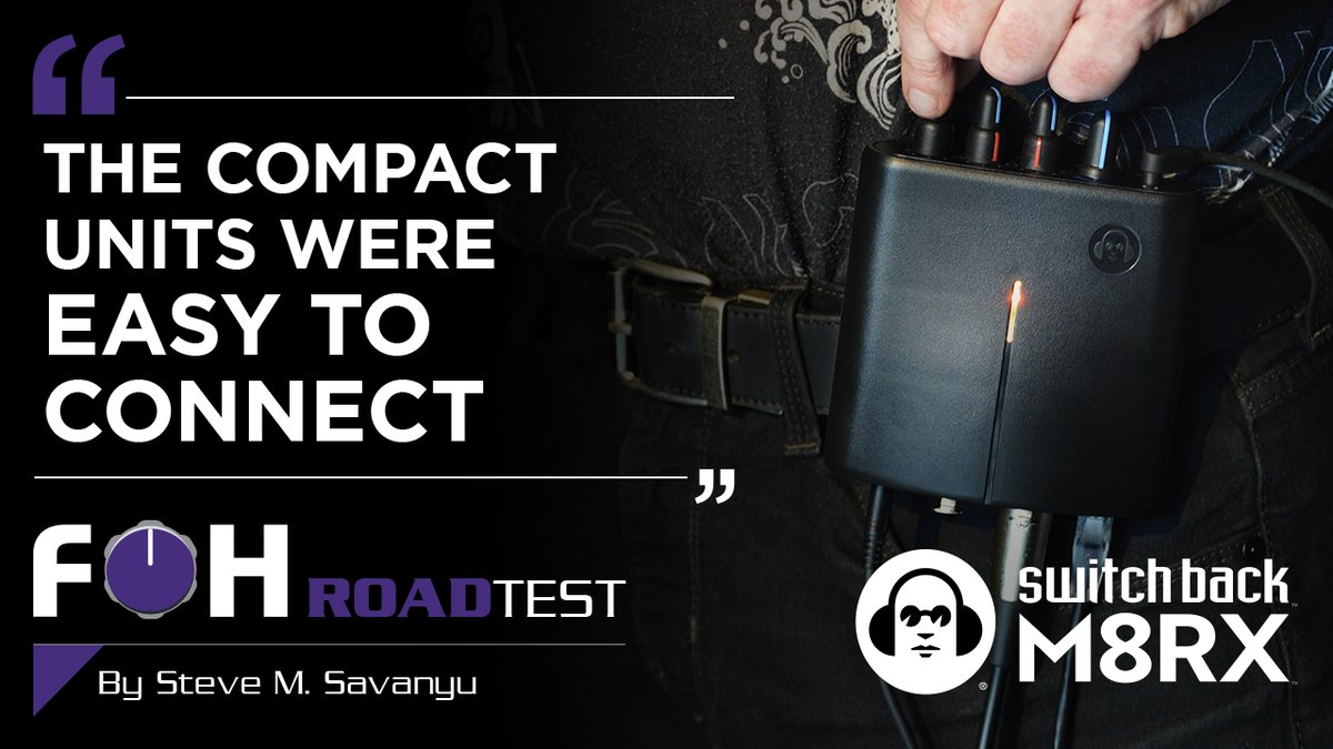 FOH's review of the Switch Back M8RX explains how they set it up, how they used it, and what they thought.  Read the full review here: https://t.co/U2sEH2AFqC  Big thanks to @fohonline and @ssavanyu for taking the time to check out our latest gear!   #audio #Dante #recording #FOH https://t.co/WnOIpcvgbZ