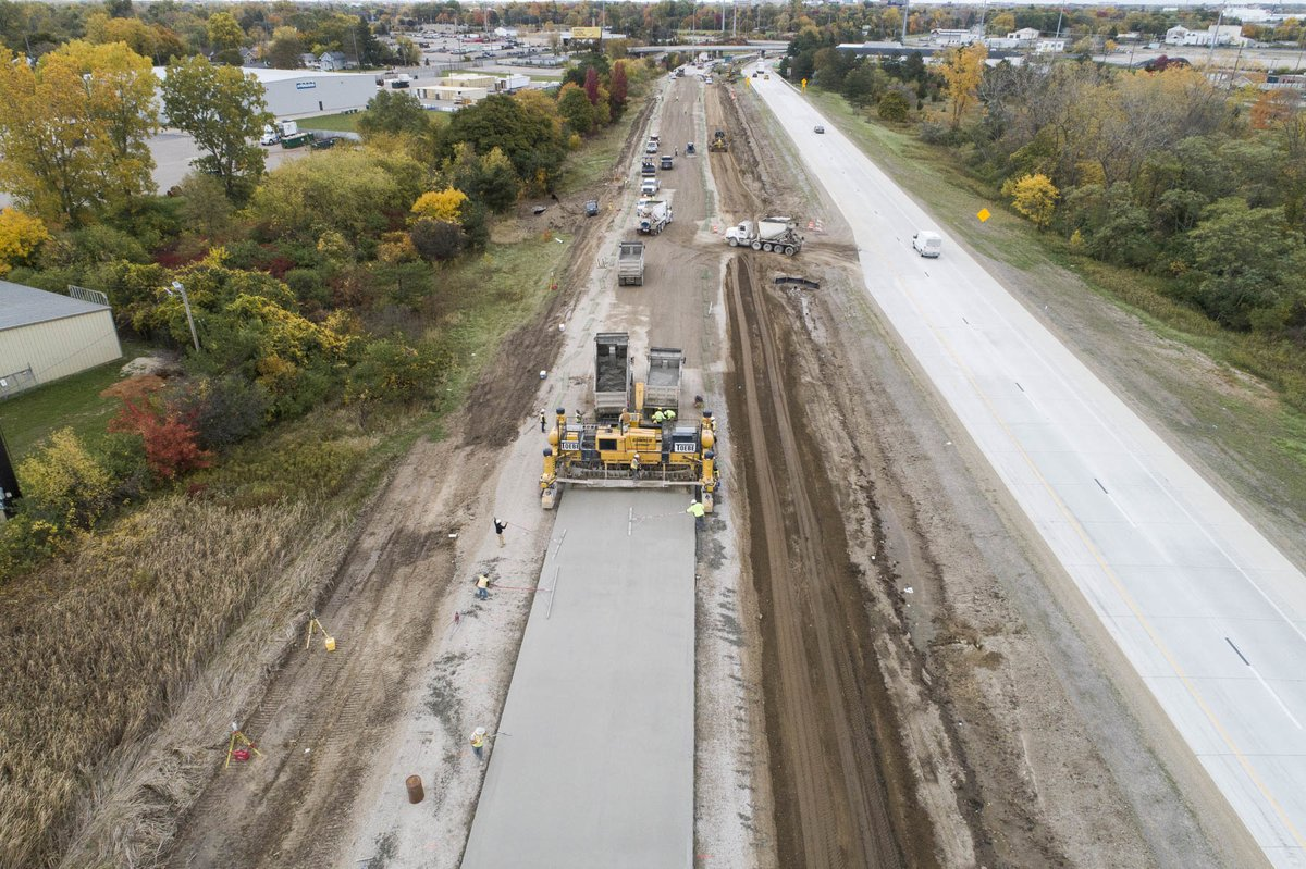 Image posted in Tweet made by Michigan DOT on October 20, 2020, 7:08 pm UTC