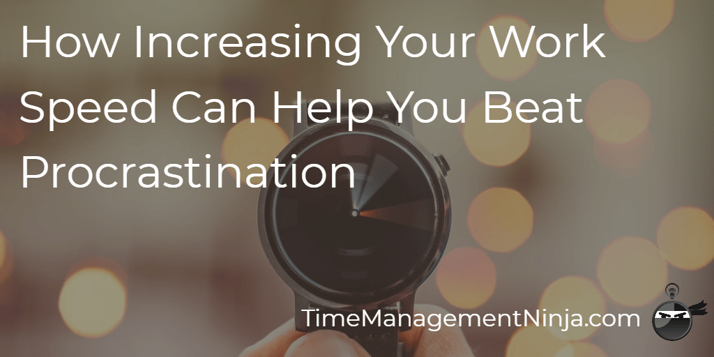 """""""Increasing your work speed can help you break through your procrastination."""" Read: How Increasing Your Work Speed Can Help You Beat Procrastination https://t.co/G5rXfEHJMa #timemanagement #professionalgrowth #taskmanagement #doittoday #workhappy  #productivityhack #smartgoals https://t.co/pHAqcV9d0M"""