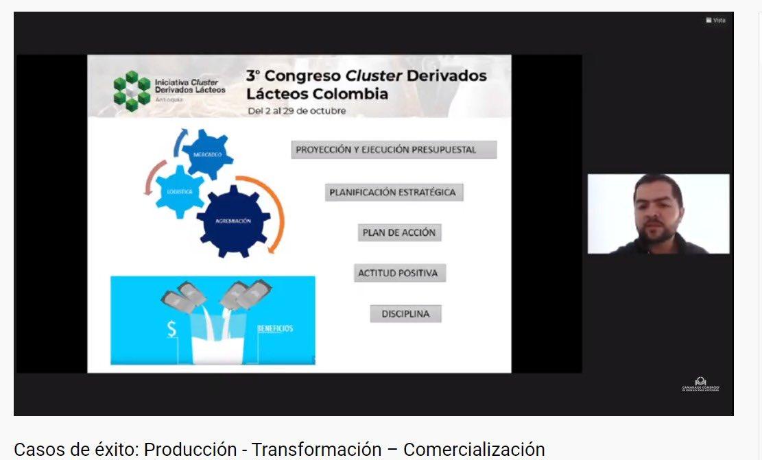 El tercer Congreso #Cluster Derivados Lácteos realiza hoy la conferencia: Casos de éxito en producción, transformación y comercialización. Expone Juan David Zuluaga de la Cooperativa Alianza para el Agro-Alagro https://t.co/wk9gvuWPjr https://t.co/Uw5KZu7XNW