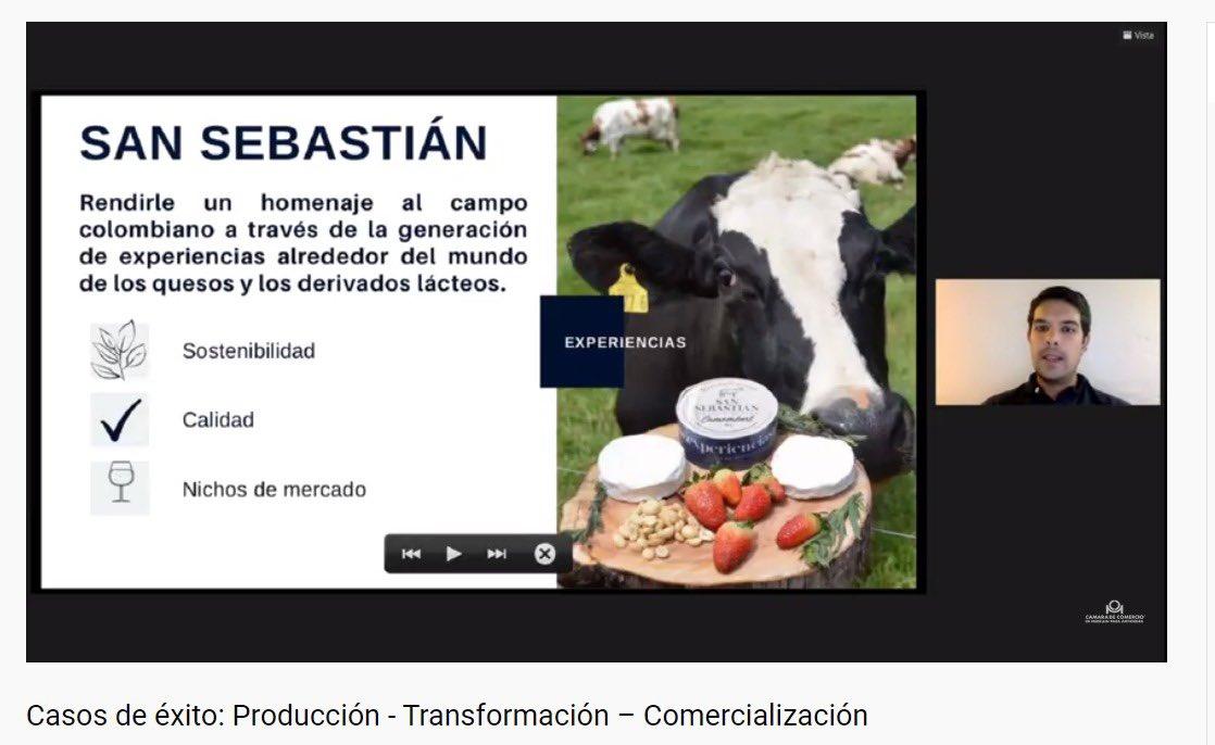 Jacobo Moreno fundador de la experiencia San Sebastián también participa en la conferencia Casos de éxito: producción, transformación y comercialización, que hace parte del Congreso #Cluster Derivados Lácteos https://t.co/S6Rvwx76DU