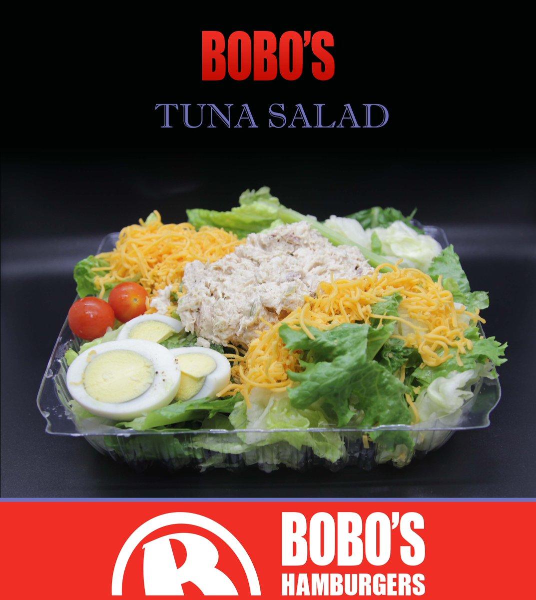 Your New Year Resolution has arrived, BOBO's Tuna Salad! Health food done right. Leafy greens, eggs, cheese, tomatoes and fresh tuna. #salad #tuna #tunasalad  #HealthyEating #healthyliving #boboslosangeles #boboslynwood #bobospacoima #bobossouthgate #boboshuntingtonpark https://t.co/tEantkvToF