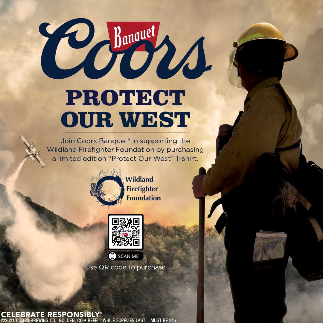 This Talk about it Tuesday features Coors Banquet and their movement to protect the west! Join today and help support the Wildland Firefighter Foundation. #TalkAboutItTuesday #coors #coorsbanquet #wildlandfirefighter #wildlandfirefighterfoundation #molsoncoors @CoorsBanquet https://t.co/KILuBYPIYM