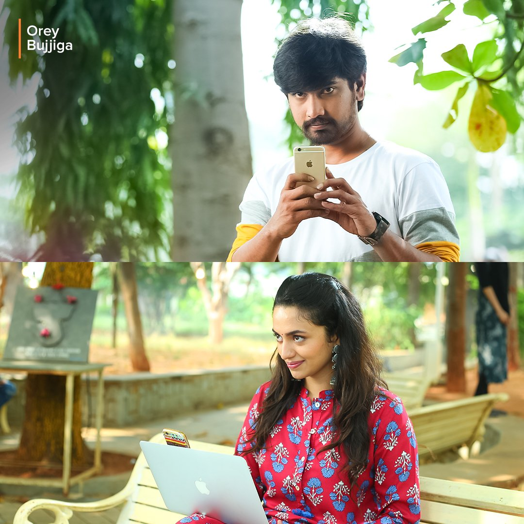 #OreyBujjiga show completed ! thoroughly enjoyed 😄👌 @directorvijays well done sir 👍👌 All the best for your future projects 🤝 #Malavikanair soo cute and beautiful. you are the main attraction in this film 😍😘 And finally @itsRajTarun love u raaja ♥️  keep rocking always😉 https://t.co/d8yA9c1IZs