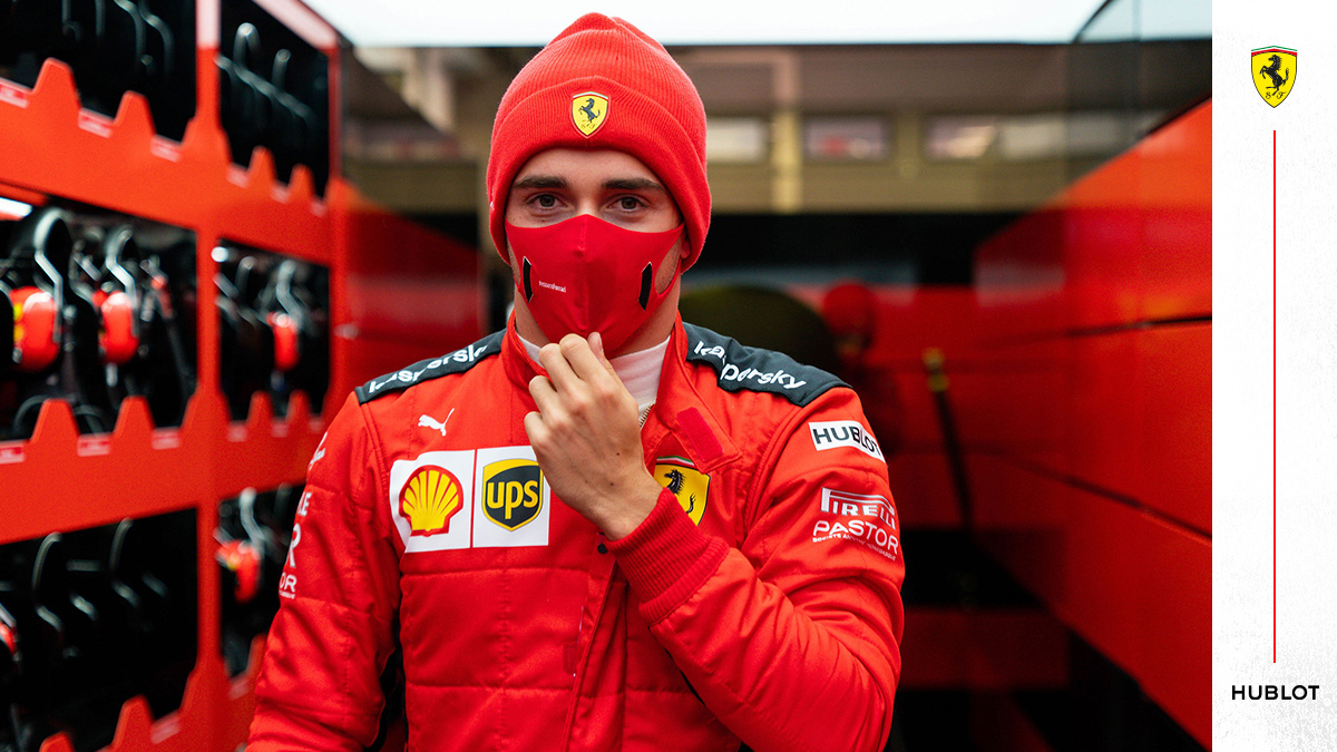 .@Charles_Leclerc was born, became a racing driver and won two Grands Prix by the time he was 21 🍼  #essereFerrari 🔴 #PortugueseGP @Hublot https://t.co/s0PWmZdnW6