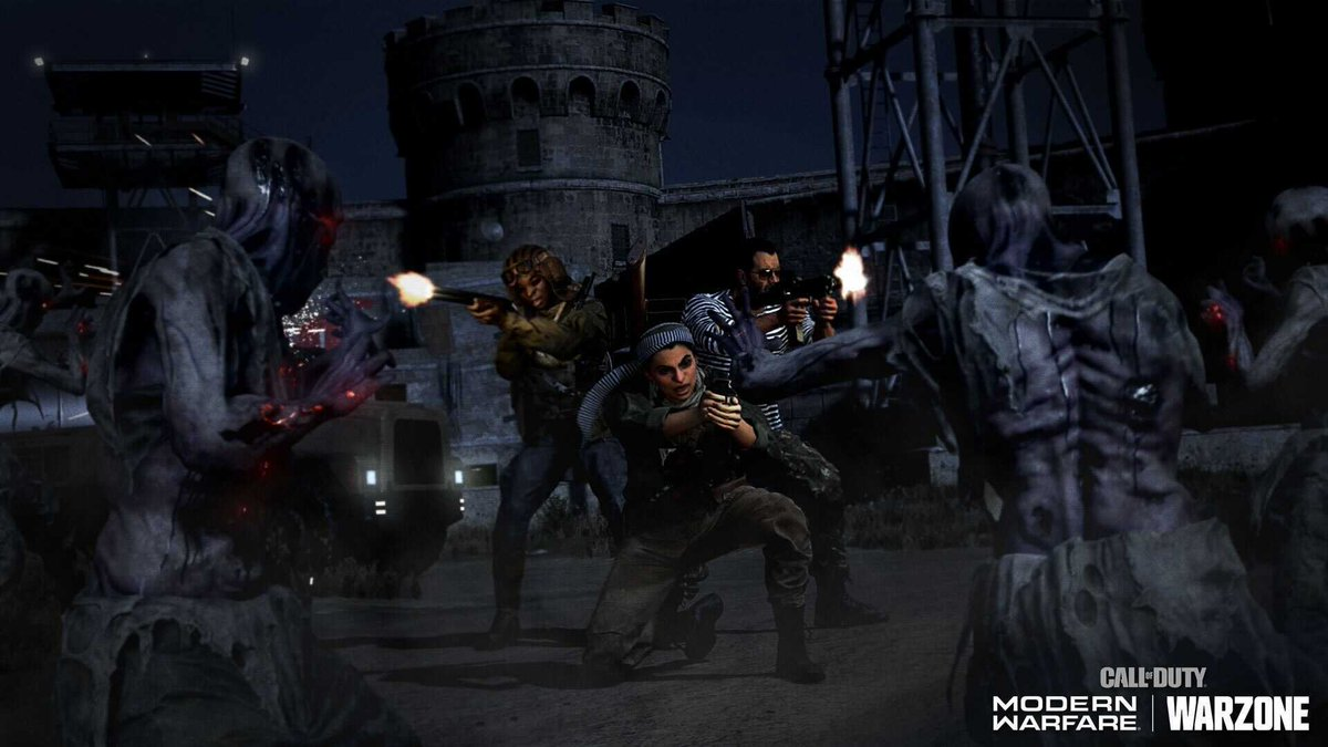 Stalk your enemies. Haunt Verdansk. Get intel on the new Zombie Royale mode here: bit.ly/MWZombieRoyale