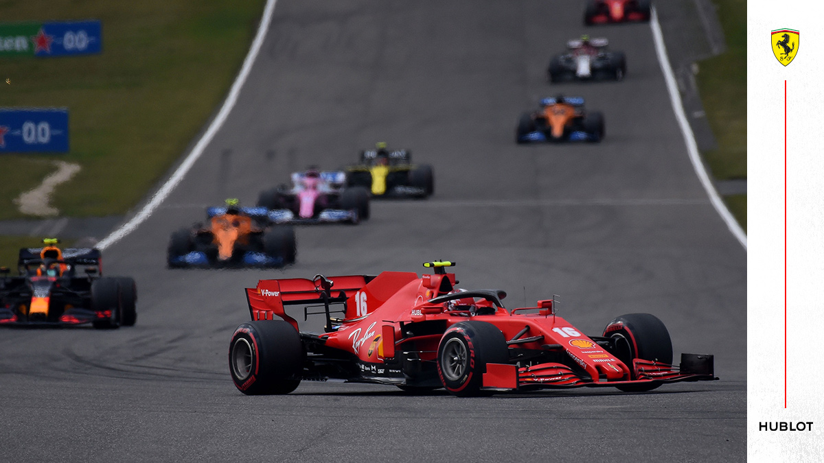 We took part in 4️⃣3️⃣4️⃣ Grands Prix   #essereFerrari 🔴 #PortugueseGP @Hublot https://t.co/gwGTwfbM0o