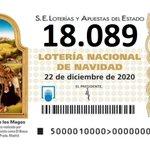Image for the Tweet beginning: NUESTRO 18.089 DE NAVIDAD, REPARTIÓ