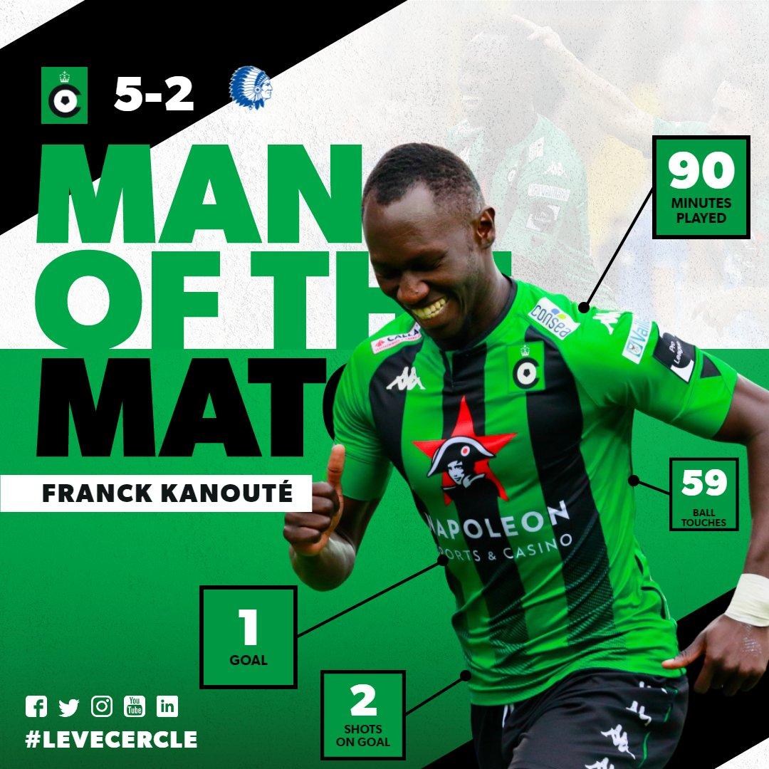 🎉🎊 Franck Kanouté is jullie Man of the Match na #CerGnt!  🏆 Leuk nieuws ook voor Berre Beuselinck: hij wint het wedstrijdshirt van Kanouté!  🤩 PROFICIAT!  ℹ️ | https://t.co/Pm4BkB0yFQ https://t.co/PeHxGXf7t2