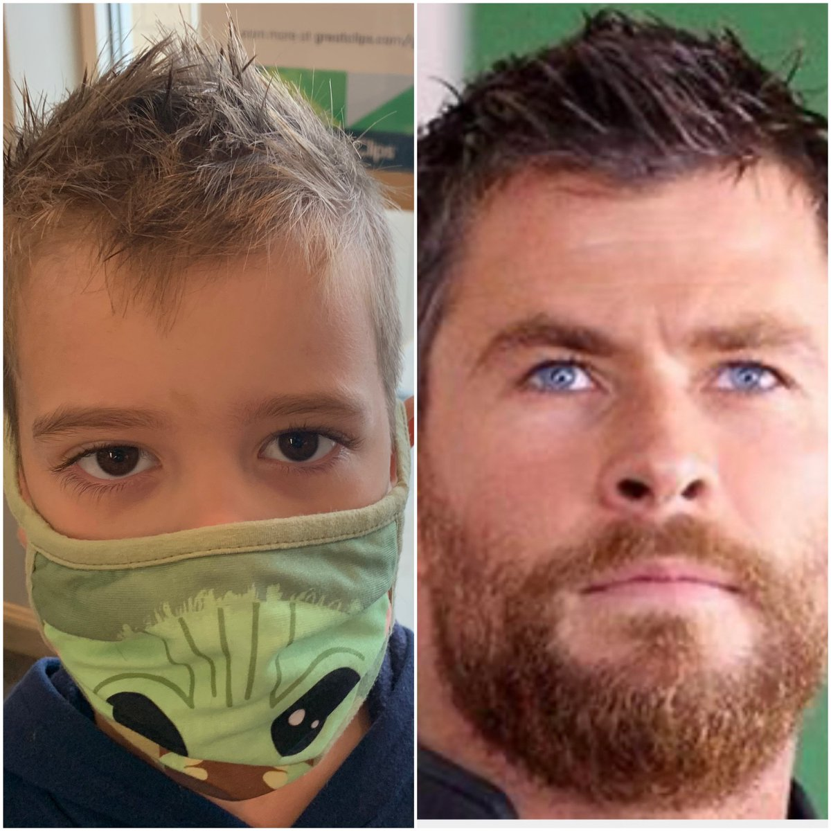 Boom On Twitter Babyboom Decided To Go With The Thor Ragnarok Hairstyle When We Went To Get Haircuts Yesterday