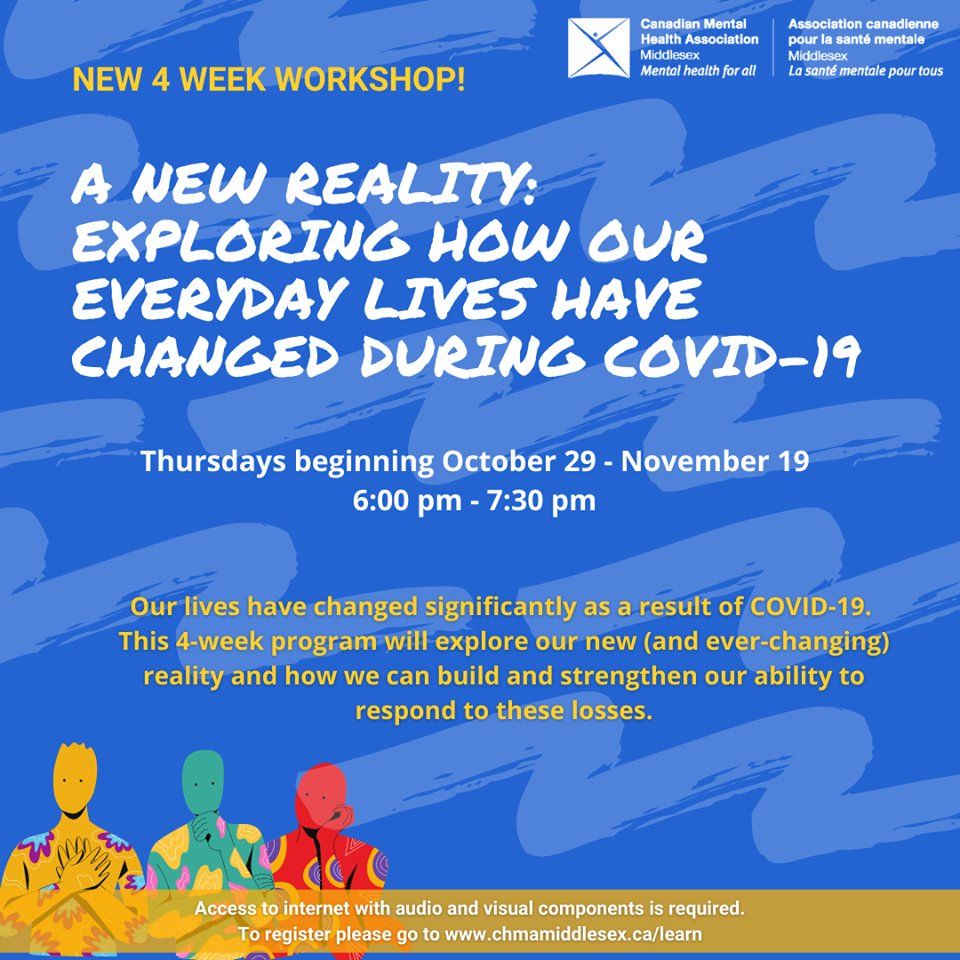 New Community Wellness programs alert! Check out these new virtual programs starting soon - be sure to register using this link: campscui.active.com/orgs/CanadianM… #mentalhealth #COVID19 #ldnont