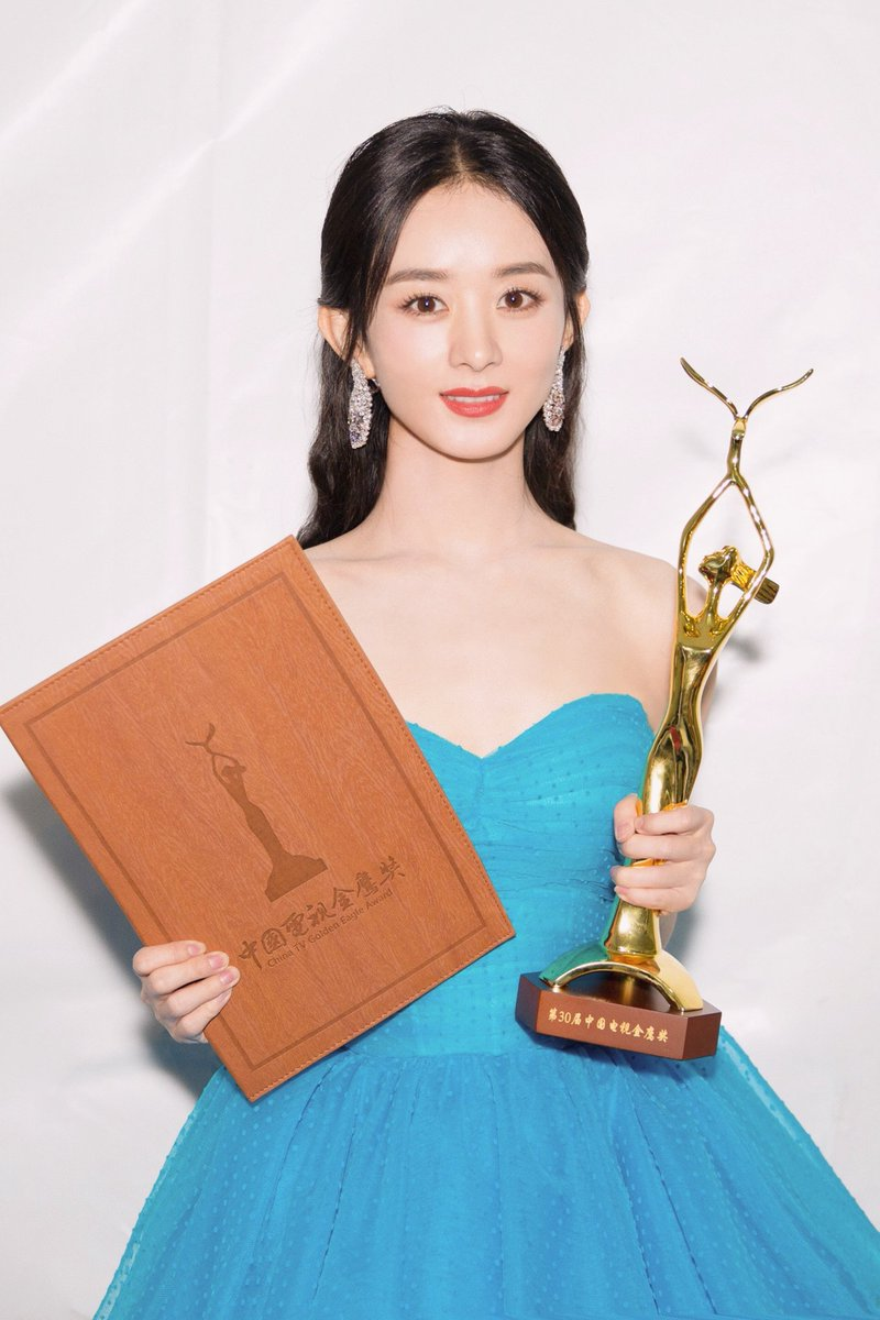 Congratulations to our #Longines Ambassador of Elegance Zhao Liying on winning the Best Actress award during the 30th China TV Golden Eagle Ceremony. #EleganceisAnAttitude https://t.co/8SQBj1qZkB